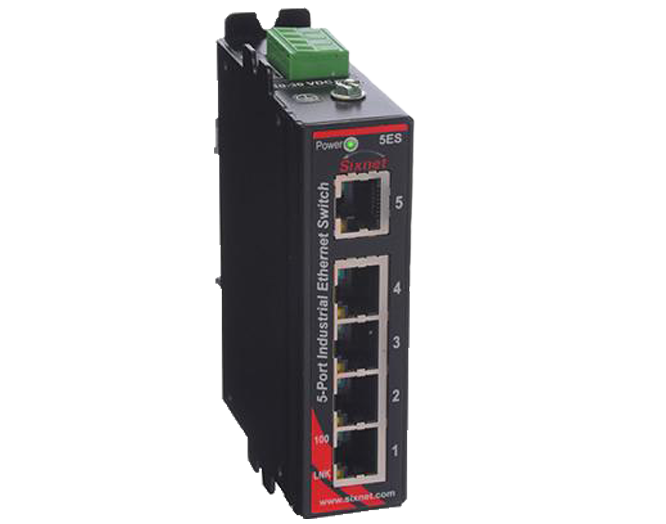 Model SLX-5ES-1 Industrial Ethernet Switch